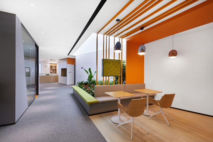 创新与梦想 5G通信公司合肥办公设计欣赏