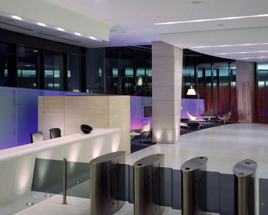 时尚办公网|办公设计|设计欣赏|德勤咨询公司伦敦