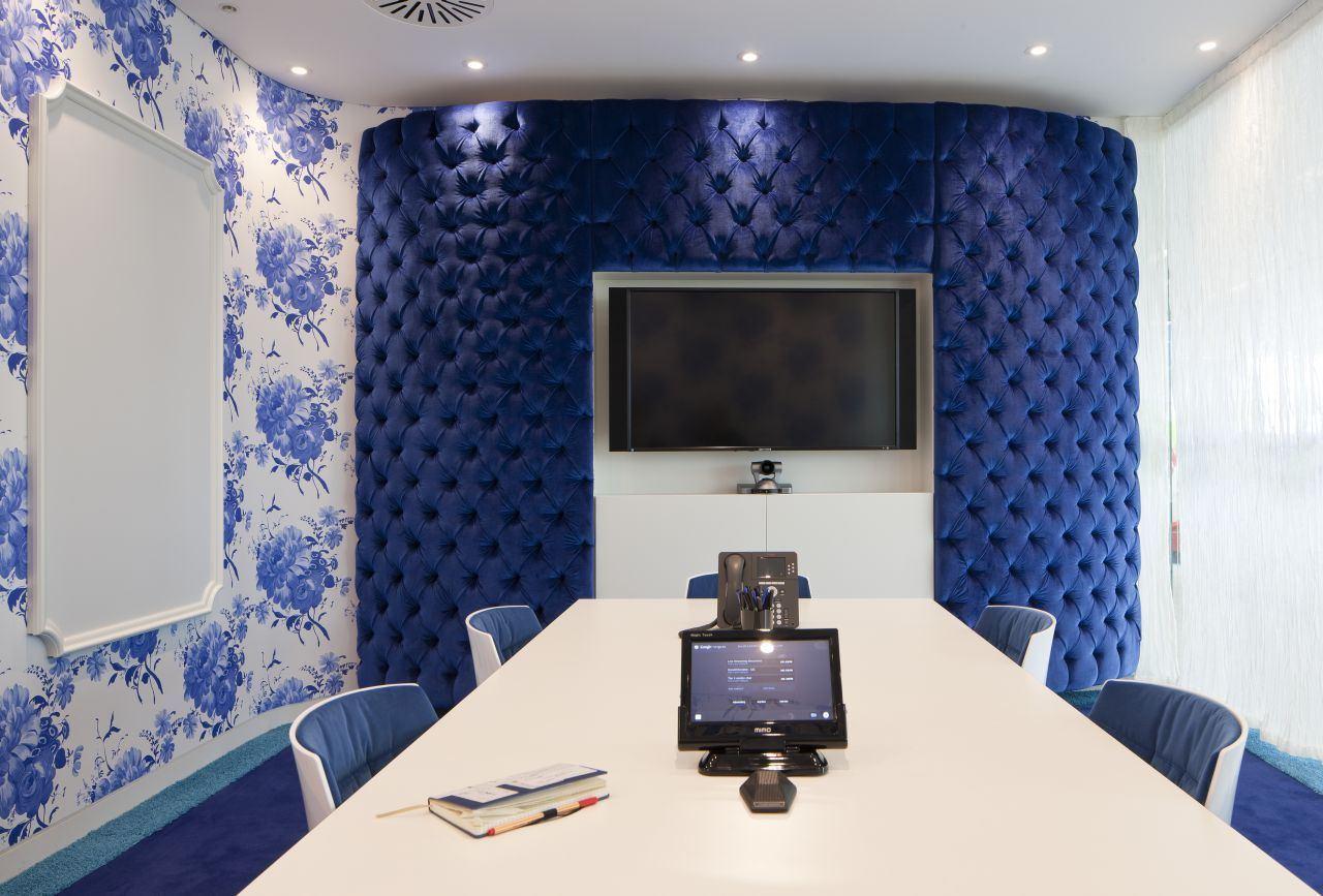 google英国总部创意设计会议室