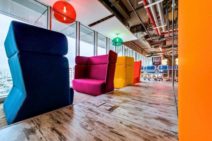 伦敦google campus室内设计(2012年)