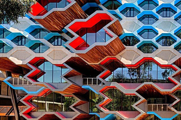 时尚办公网|办公设计|设计欣赏|澳洲拉筹伯大学分子