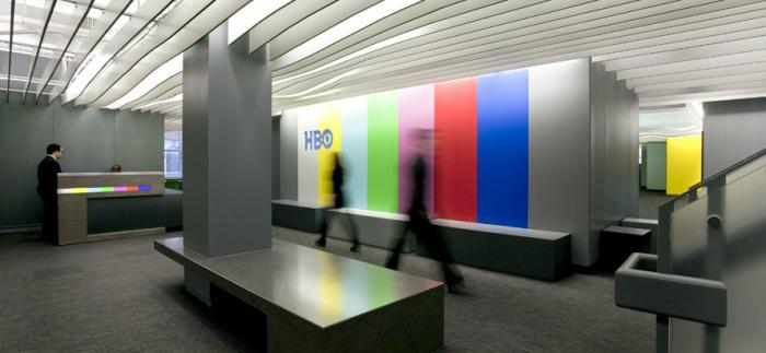 hbo电视网络媒体公司接待前台