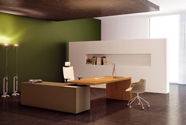 【家具设计】温馨时尚主管桌 - 百利杯 - 百利杯 全国大学生办公家具创意设计大赛