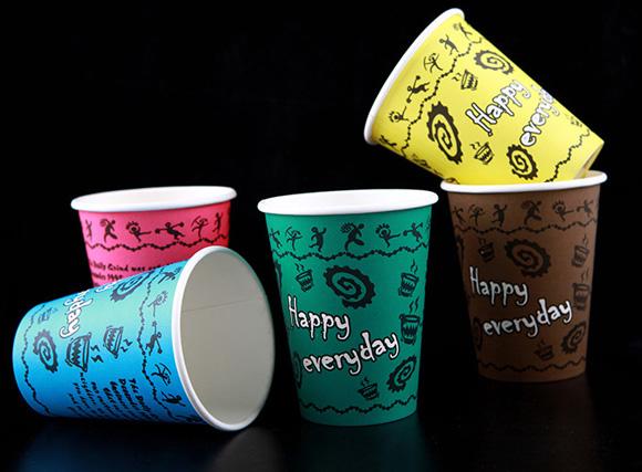 有了这样缤纷漂亮的创意纸杯再也不用怕混淆了